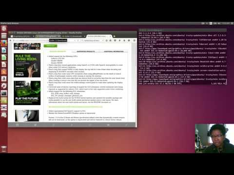 HTS Dev Diary: Install Nvidia Driver On Ubuntu 14.04 LTS