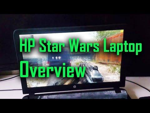 HP Star Wars Special Edition Laptop: i5-6200U, 6GB DDR3, 1TB HDD, 15.6