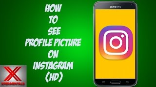How To View Instagram Profile Picture In Full Size Videos
