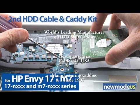 2nd HDD SATA Cable & Hardware Kit for HP Envy 17-nxxx, m7-nxxx  (compare to 813796-001,813795-001)