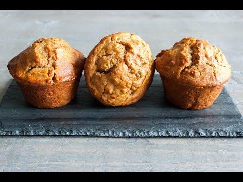 Jumbo oatmeal carrot muffin recipe- 4 Mins or Less Recipes