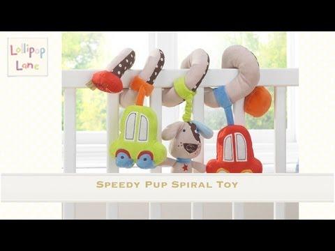 Speedy Pup Tie Backs from Lollipop Lane