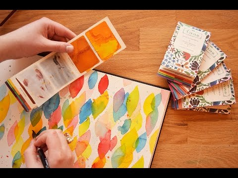 Cool New Watercolor Product Alert + A GIVEAWAY ~ Viviva Colorsheets