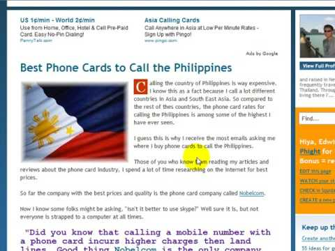 Phone Cards to Call Phillipines - Where to Find the Best