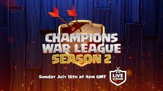 Clash of Clans – Champions War League Final!