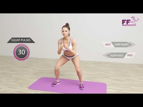 5 Minutes Exercises To Lift Your Butt and Thighs