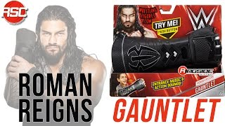 WWE FIGURE INSIDER: Roman Reigns - WWE Wrist Gauntlet Toy Wrestling Playset from Mattel