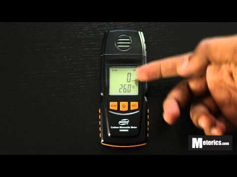Benetech GM8805 Digital Carbon Monoxide Meter Review
