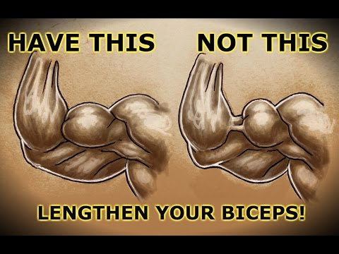 Quick Tip To HELP Eliminate The Biceps Gap At Your Elbow