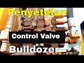 Hydraulic system dan control valve komatsu Bulldozer D155A-6