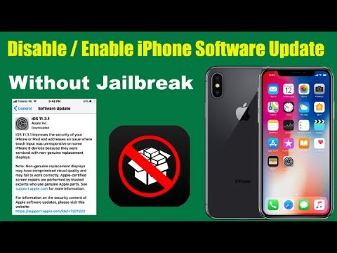 How to Enable | Disable iPhone Software Update without Jailbreak