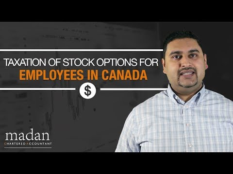Taxation of Stock Options for Employees in Canada