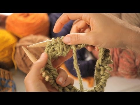 How to Do a 2x2 Ribbing in the Round | Circular Knitting