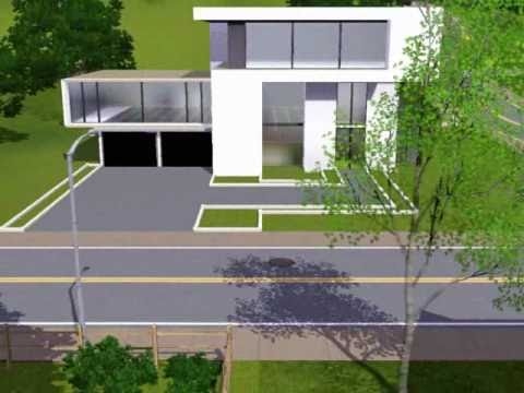 Modern House 3 THE SIMS 3