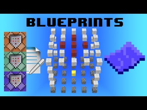 Blueprints! Custom structure crafting, ~LEGO game style