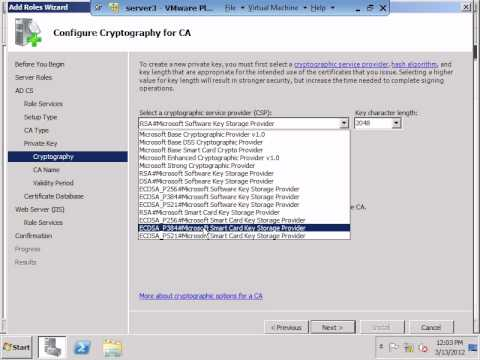 Install certificate on workgroup.avi