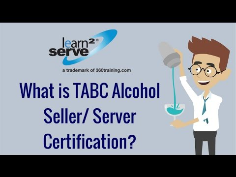 What is TABC Alcohol Seller/ Server Certification? | Learn2Serve