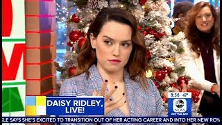 Daisy Ridley Answers Question REY