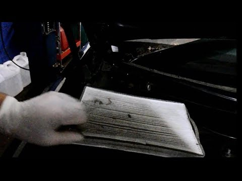 How to replace the cabin filter on a Buick Lacrosse