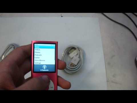 Apple Ipod Nano 4th Generation , 8GB, Pink, - Ebay Listing - $60
