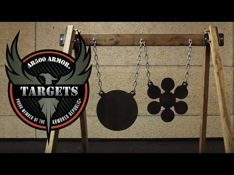 Hanging Target Stand Assembly | Targets by AR500 Armor®