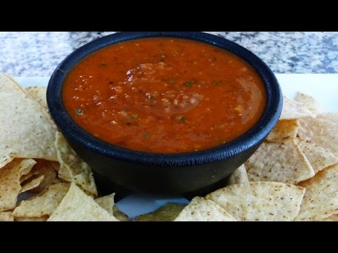How to make 3 different Salsas, Chipotle Salsa, Dry Chilie Salsa, Salsa de Molcajete.
