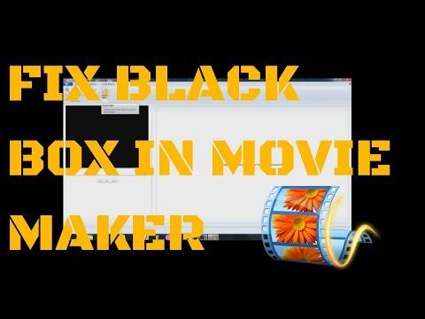 Fix small video crop Windows Movie Maker Error