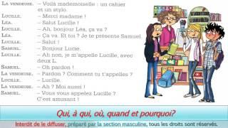 dialogue debutant au restaurant delf A1 - podcast français facile