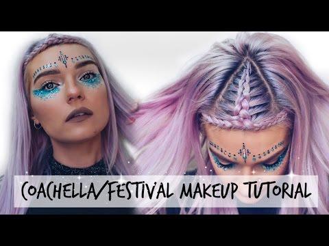 Coachella / Music Festival Makeup Tutorial | LoveFings