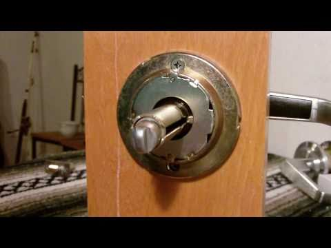 Entry Lever lock / Removal / Installation Of A Grade 2 LSDA entry lever