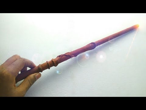 How to Make a Magic Wand Out of Paper
