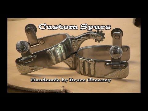 MONSTER SPURS - Handmade spurs by Bruce Cheaney