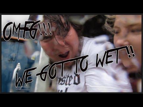 I got so wet!! BAD RAIN & DRS 37 TRAIN !!