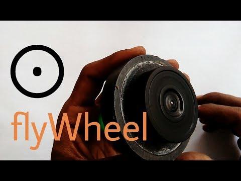 Free energy flywheel   the important part of free energy generator.