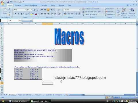 Macros en excel 2007 avanzado- nivel basico parte I