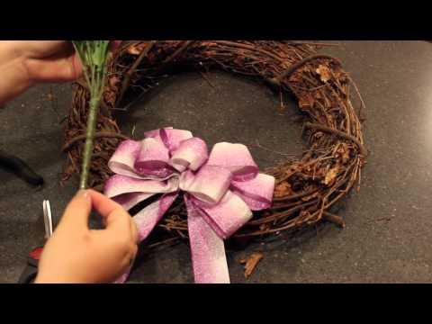 DIY: February Wreath Tutorial
