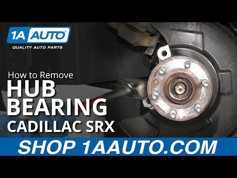 How to Replace Hub Bearing 10-16 Cadillac SRX