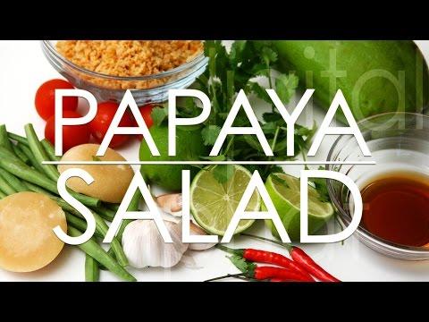 How to make Papaya Salad in Vietnam