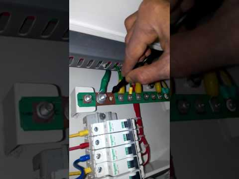 Three and single phase voltage check with sanwa digital meter