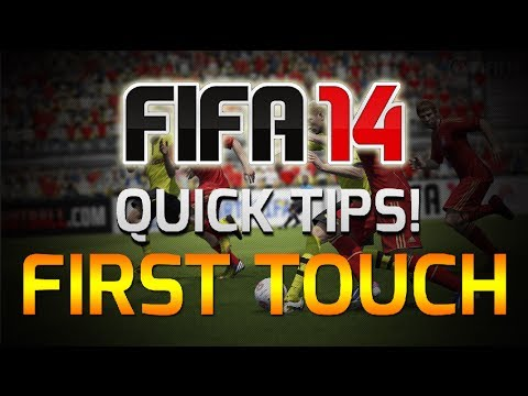 FIFA 14 | How To Always Take A Good First Touch - Quick Tip #5