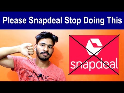 Must Watch... If You Do Online Shopping | Fraud Snapdeal