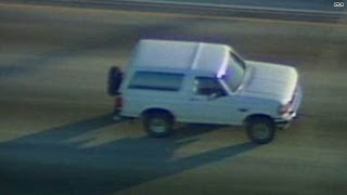 Where were you during the Bronco chase?