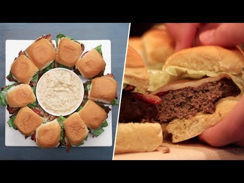 Bacon Wrapped Burger Ring Review- Buzzfeed Test #94