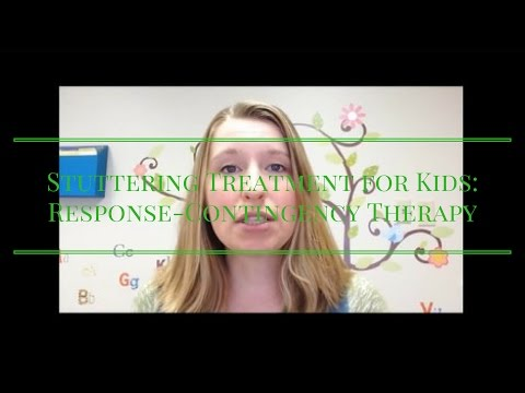 Stuttering Treatment for Kids: Response-Contingency Therapy