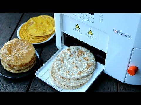 rotimatic review - automatic roti maker machine review + discount price - sponsored video