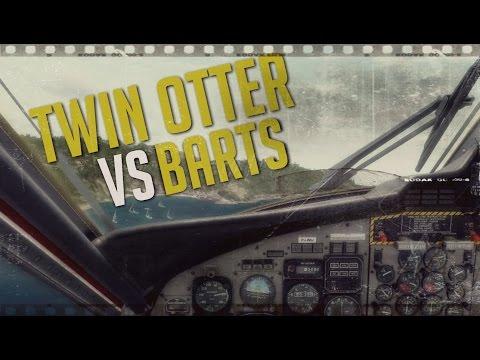 Twin Otter vs. St. Barts ║ Full Flight