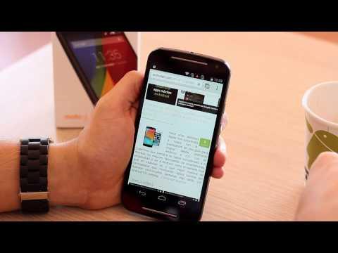 Motorola Moto G 2014, Review en español