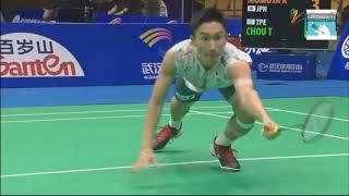 England Champion SHi Yuqi finds a difficulty when face Kento Momota - 2018 BAC