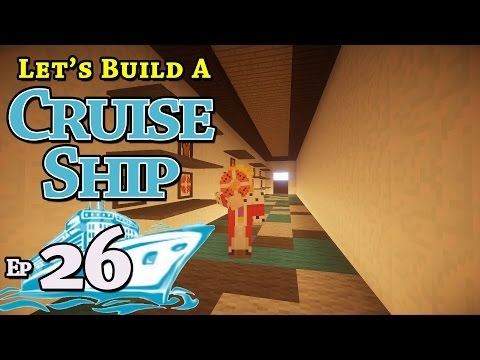 How To Build A Cruise Ship :: Minecraft :: E26 :: Z One N Only