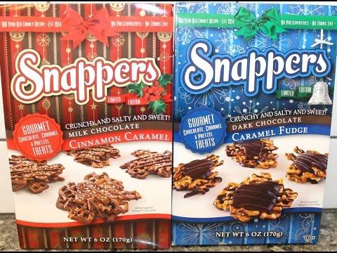Snappers: Cinnamon Caramel & Caramel Fudge Review
